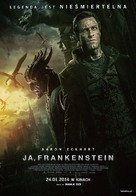 I, Frankenstein - Polish Movie Poster (xs thumbnail)