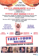 Fast Food Nation - Argentinian DVD movie cover (xs thumbnail)