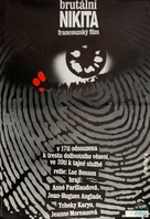 Nikita - Czech Movie Poster (xs thumbnail)