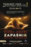 The Wrestler - Polish Movie Poster (xs thumbnail)