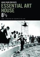 8½ - DVD movie cover (xs thumbnail)