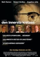 The Good Shepherd - Swedish Movie Poster (xs thumbnail)