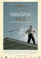 A Serious Man - Czech Movie Poster (xs thumbnail)