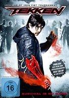 Tekken - German Movie Cover (xs thumbnail)