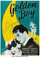 Golden Boy - Swedish Movie Poster (xs thumbnail)