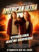 American Ultra - Czech Movie Poster (xs thumbnail)