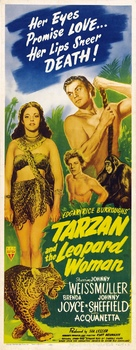 Tarzan and the Leopard Woman - Movie Poster (xs thumbnail)