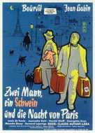 La traversée de Paris - German Movie Poster (xs thumbnail)