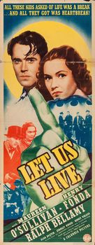 Let Us Live - Movie Poster (xs thumbnail)