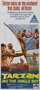 Tarzan and the Jungle Boy - Australian Movie Poster (xs thumbnail)