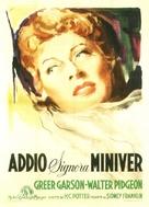 The Miniver Story - Italian Movie Poster (xs thumbnail)