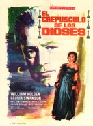Sunset Blvd. - Spanish Movie Poster (xs thumbnail)
