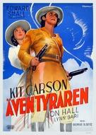 Kit Carson - Swedish Movie Poster (xs thumbnail)