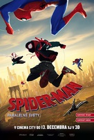Spider-Man: Into the Spider-Verse - Slovak Movie Poster (xs thumbnail)