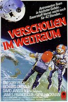 Marooned - German VHS movie cover (xs thumbnail)