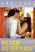 L'amour en fuite - German Movie Poster (xs thumbnail)