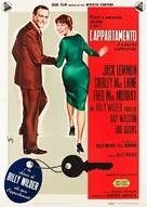 The Apartment - Italian Theatrical movie poster (xs thumbnail)