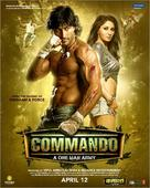 Commando - Indian Movie Poster (xs thumbnail)