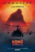 Kong: Skull Island - Vietnamese Movie Poster (xs thumbnail)