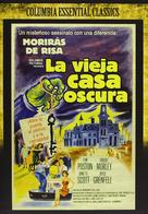 The Old Dark House - Spanish Movie Cover (xs thumbnail)
