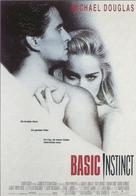 Basic Instinct - German Movie Poster (xs thumbnail)