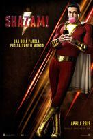 Shazam! - Italian Movie Poster (xs thumbnail)