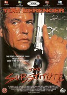 The Substitute - Danish Movie Cover (xs thumbnail)