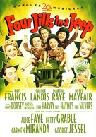 Four Jills in a Jeep - DVD cover (xs thumbnail)
