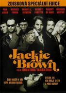 Jackie Brown - Czech DVD movie cover (xs thumbnail)