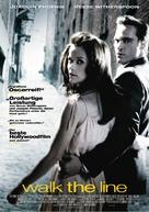Walk the Line - German Movie Poster (xs thumbnail)