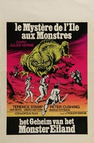 Misterio en la isla de los monstruos - Belgian Movie Poster (xs thumbnail)