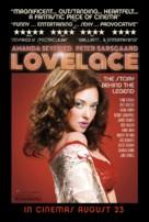 Lovelace - British Movie Poster (xs thumbnail)