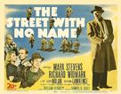 The Street with No Name - Movie Poster (xs thumbnail)