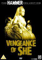 The Vengeance of She - British DVD cover (xs thumbnail)