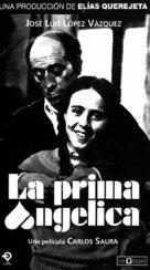 La prima Angélica - Spanish Movie Cover (xs thumbnail)