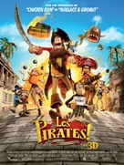 The Pirates! Band of Misfits - French Movie Poster (xs thumbnail)