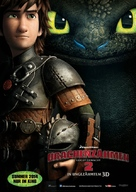 How to Train Your Dragon 2 - German Movie Poster (xs thumbnail)