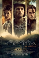 The Lost City of Z - Singaporean Movie Poster (xs thumbnail)