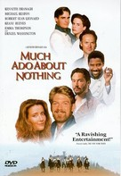 Much Ado About Nothing - DVD cover (xs thumbnail)