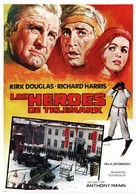 The Heroes of Telemark - Spanish Movie Poster (xs thumbnail)