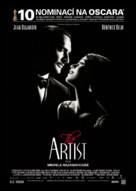 The Artist - Czech Movie Poster (xs thumbnail)