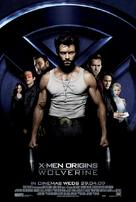 X-Men Origins: Wolverine - British Movie Poster (xs thumbnail)