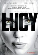 Lucy - Polish Movie Poster (xs thumbnail)