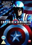 Captain America - British DVD movie cover (xs thumbnail)