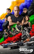 Fast & Furious 9 - Dutch Movie Poster (xs thumbnail)