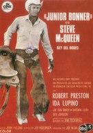 Junior Bonner - Spanish Movie Poster (xs thumbnail)
