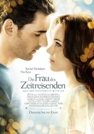 The Time Traveler's Wife - German Movie Poster (xs thumbnail)