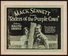 Riders of the Purple Cows - Movie Poster (xs thumbnail)