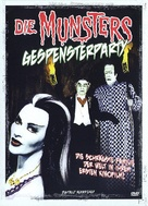 Munster, Go Home - German DVD movie cover (xs thumbnail)