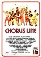 A Chorus Line - Italian Movie Poster (xs thumbnail)